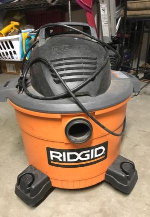 Ridged shop Vac for Sale in Tustin, CA
