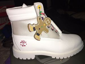 Timberland Christmas sugar boots for Sale in Milwaukee, WI