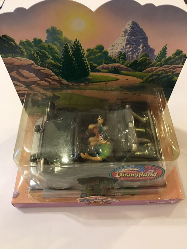 "Disneyland Autopia Cars Chevron 2000 ""Dusty"" Toy Collectible (NIP)"
