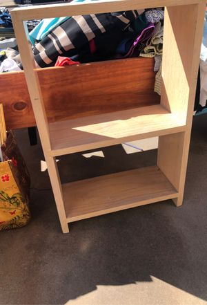 Small wooden shelf for Sale in El Paso, TX