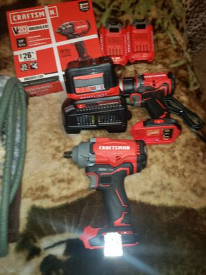 "2 brand new craftsman 1/2""impacy guns,hammer drill and more for Sale in Tacoma, WA"