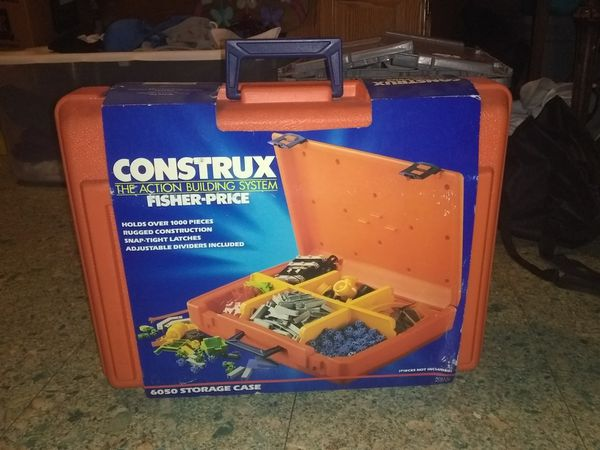 Fisher Price construx storage