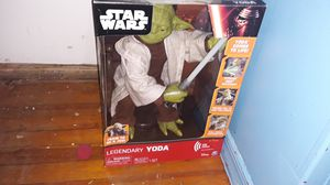 YODA ROBOT INTERACTIVE NEW IN BOX for Sale in Wichita Falls, TX