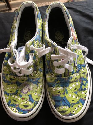 Toy Story Vans size 1.5 kids for Sale in Fountain Valley, CA