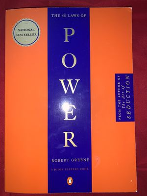 The 48 Laws Of Power By Robert Greene for Sale in Phoenix, AZ