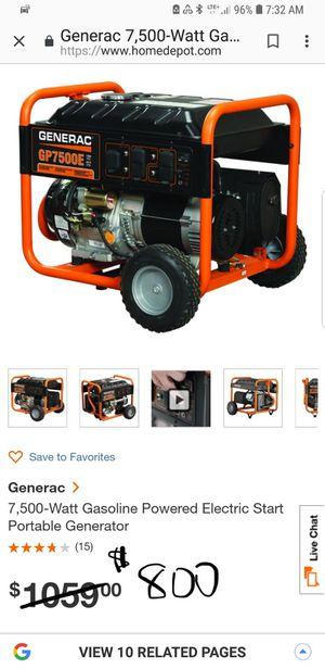 Generac generator for Sale in Austin, TX