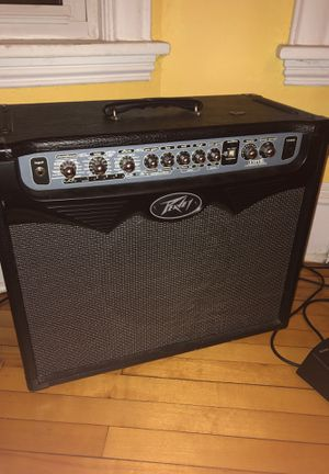 Peavy Vypr 75w modeling amp with sanpera 1 foot controller for Sale in Minneapolis, MN