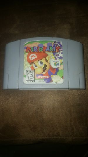 Mario Party, N64 for Sale in Dawson, GA