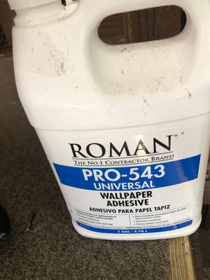 Wallpaper adhesive for Sale in Webster, MA