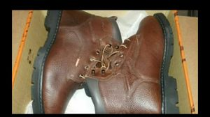 Brand new 190 dollar red wing metatarsal work boots for Sale in Lorain, OH