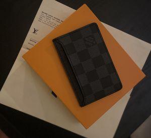 Auth Louis Vuitton Damier Graphite Cardholder for Sale in Pasco, WA