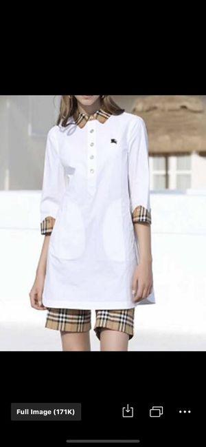 Burdurry brand, cotton dress shirt and short for Sale in Philadelphia, PA
