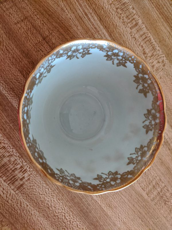 Paragon fine bone English china tea cup and saucer