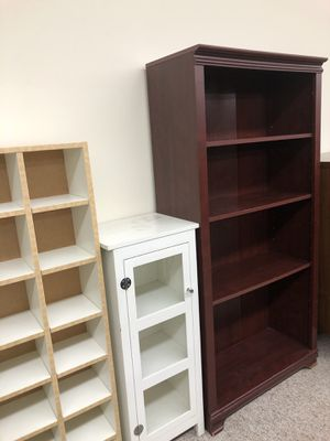 Modern bookcase storage shelves GreenwoodSeattle @BigWhaleConsignment for Sale in Seattle, WA