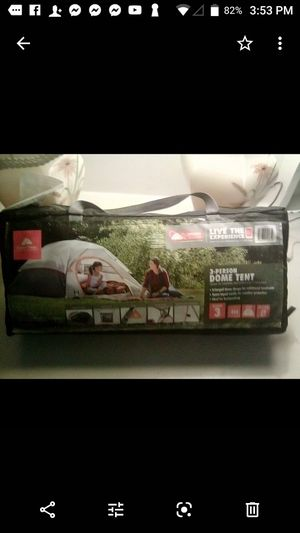 3-prerson dome ⛺ tent for Sale in Fresno, CA