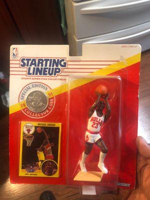 Starting lineup Michael Jordan action figure for Sale in San Leandro, CA
