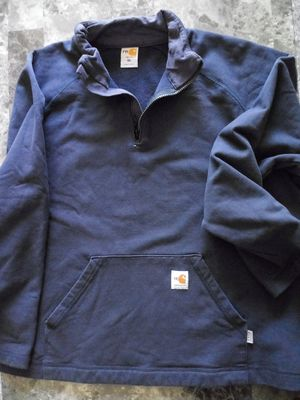 FR Carhartt 1/4 zip sweat shirt for Sale, used for sale  Salt Lake City, UT