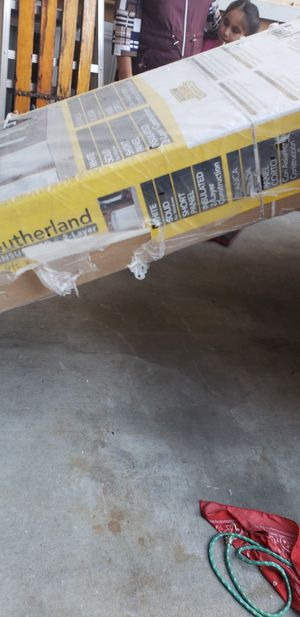 Sutherland insulated 2 layer garage door for Sale in Concord, CA