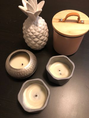 Cute candle jars for Sale in Minneapolis, MN