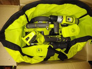 Ryobi 18-Volt ONE+ Lithium-Ion Cordless 6-Tool Combo Kit with (2) Batteries, Charger, and Bag for Sale in Temple, GA