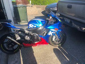 2016 gsxr600 motorcycle Suzuki for Sale in Kent, WA