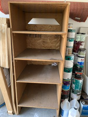 Wooden storage unit/shelves for Sale in Carlsbad, CA