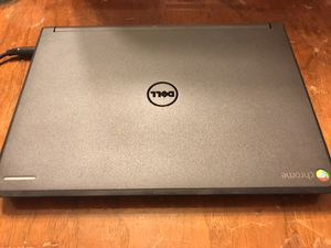 Dell chromebook 11 with school locked. Can use for online research and watch movies, play app games. With power adapter. Two for $60 ( have two mode for Sale in Federal Way, WA
