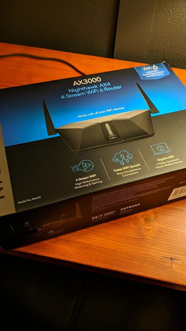 Nighthawk AX4 Wifi 6 Router