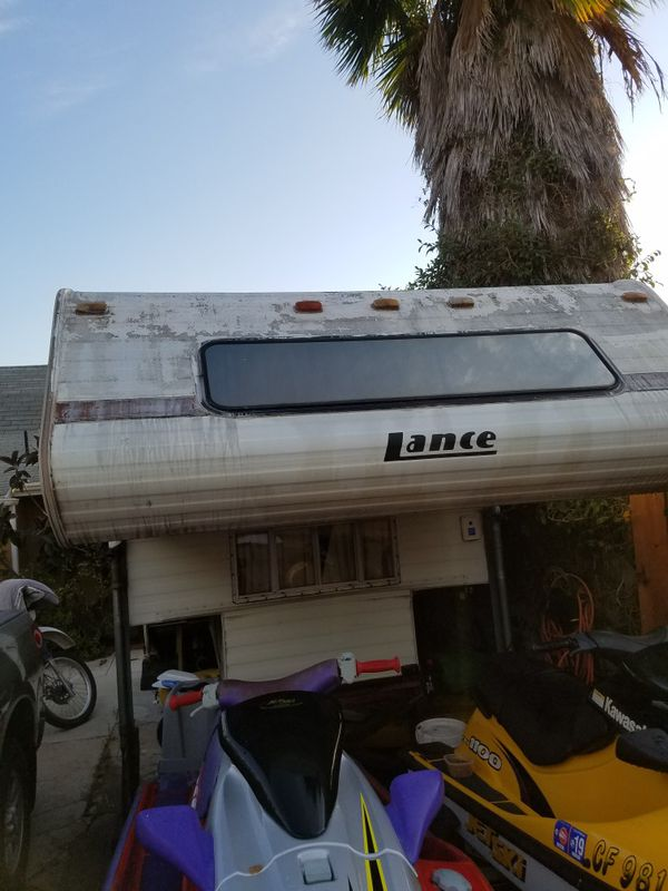 Lance Camper For Sale In Spring Valley  Ca