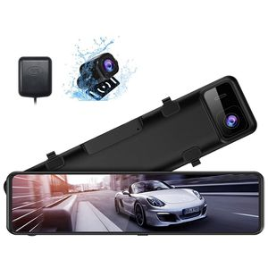 XTU 2.5K Mirror Dash Cam for Cars with 12'' IPS Touch Screen,Front and Rear View Mirror Camera Waterproof Backup Camera,Sony Starvis Sensor,Enhanced N for Sale in Gaithersburg, MD