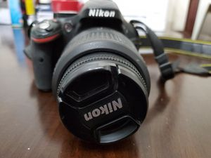 Nikon D5200 with 2 lenses, charger and battery for Sale in Tigard, OR