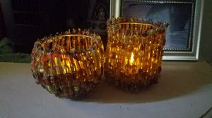 Beaded candle holders for Sale in Stockton, CA