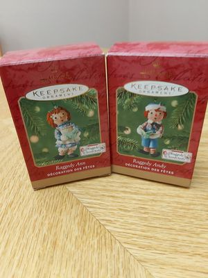 Hallmark Ornament Raggety Ann and Andy for Sale in Branford, CT
