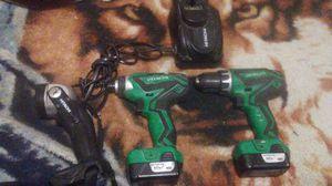 Hitachi 12vmax power impact & drill combo for Sale in Stockton, CA