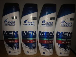 MENS HEAD AND SHOULDERS BUNDLE!!! for Sale in Fresno, CA