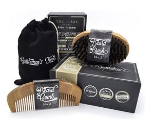 Beard Comb & Brush - Set - for Men, Sandal Wood Comb, 100% Natural Boar Bristle Brush, Best for Grooming Facial Hair and Mustache for Sale in Grand Prairie, TX