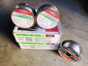 Welding wire all new $40 for all FIRM NO LESS. for Sale in Wildomar, CA
