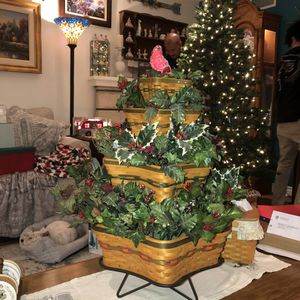 Longaberger Christmas Baskets for Sale in Cerritos, CA
