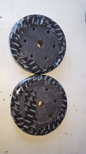 Two 10 pound weights made in U.S.A for Sale in Bakersfield, CA