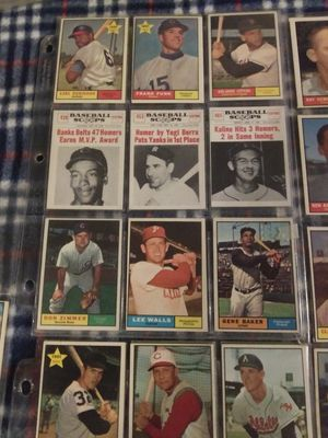 1961 Topps Baseball Cards for Sale in Phoenix, AZ