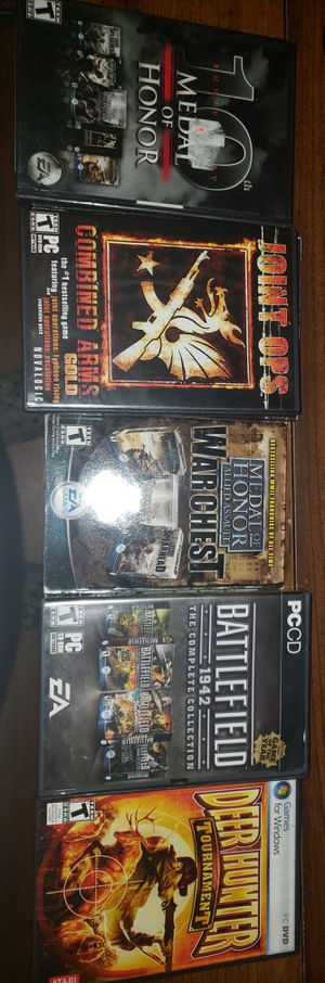 Nothing wrong with them good condition pc games or willing to trade for Sale in CORP CHRISTI, TX