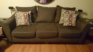 Couch with pillows for Sale in Powhatan, VA