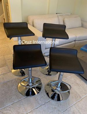 New 4 black stools $50 each for Sale in Orlando, FL