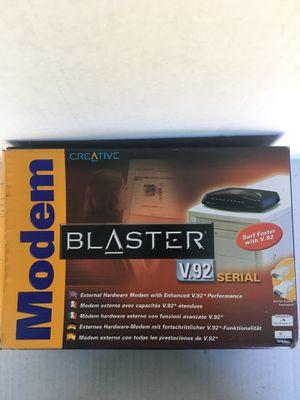 Creative Blaster v. 9.2 External Modem for Sale in Orange, CA