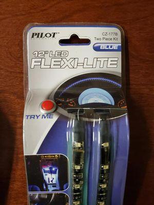 """Pilot Automotive 12"""" LED Flex-Light, Blue 2 Sets for Sale in Apex, NC"""