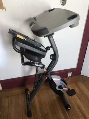 Exerpeutic WORKFIT 1000 Desk Station Folding Exercise Bike for Sale in San Francisco, CA