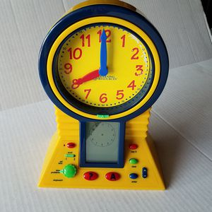 Learning Resources Clever Clock kids time teacher LER2998 for Sale in Montclair, CA