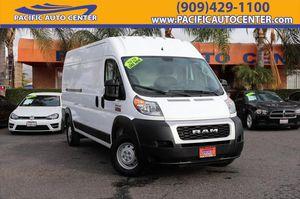 2020 RAM Promaster Cargo Van for Sale in Fontana, CA