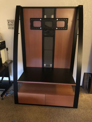Entertainment center and 46' tv for Sale in Modesto, CA