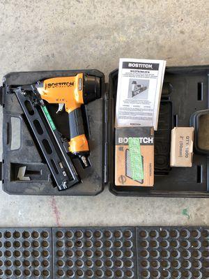Bostitch nail gun for Sale in Riverside, CA